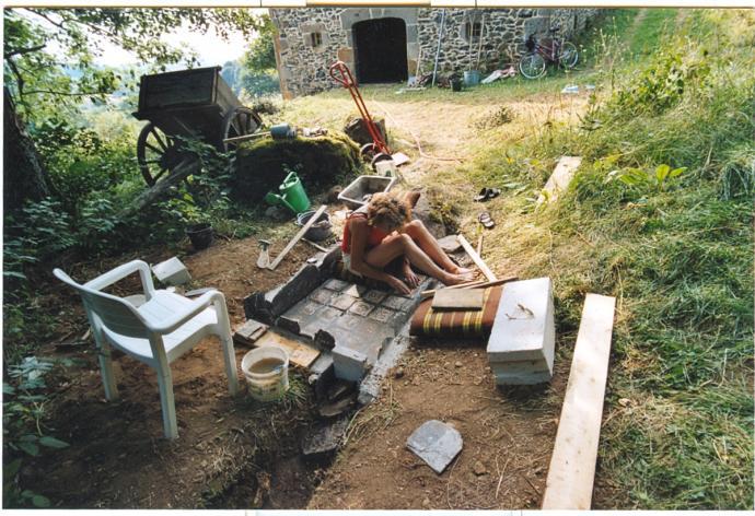 bouw romeinsbad