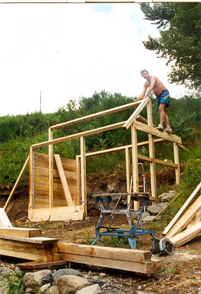 bouw houthok