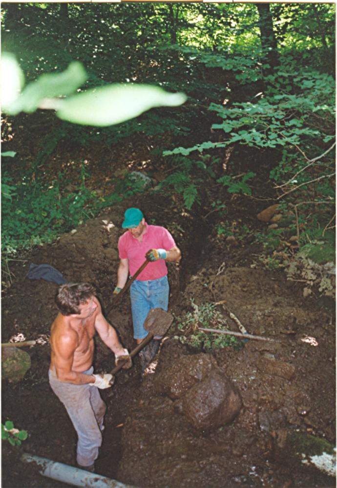 aanleg waterleiding