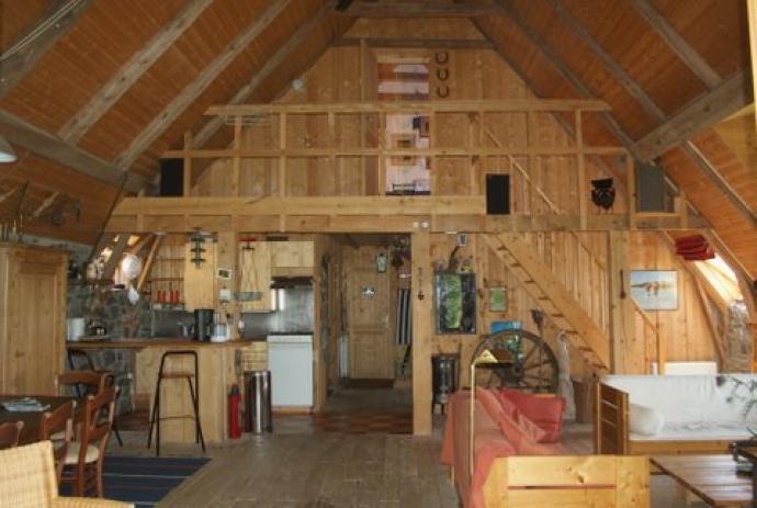 Open Woonkamer Indeling : Indeling van la grange des peyrouses u huis in auvergne